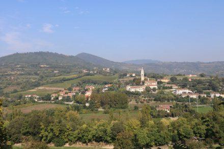 Tour durch die Euganeischen Hügel zwischen Este und Monselice.
