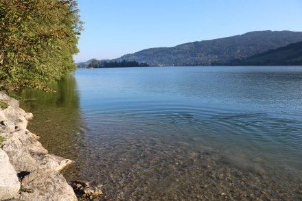 Trinkwasserqualität wie bei den meisten bayerischen Seen.
