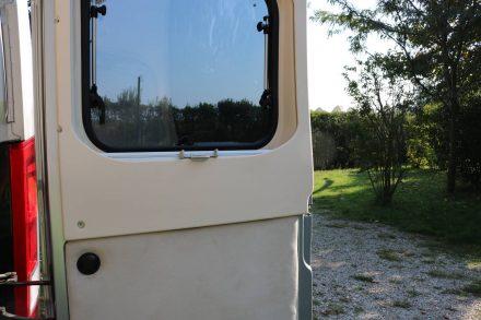 """Einer der wenigen Nachteile des Kastenwagens - es gibt überall Kältebrücken durch das """"Metallhäuschen""""."""