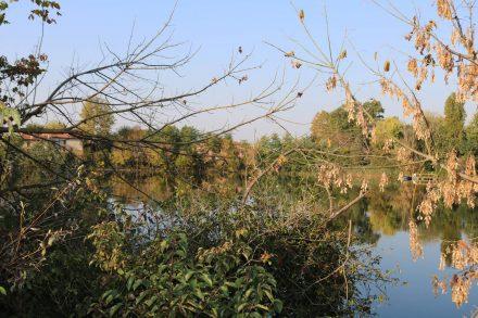 Der Sile ist ein richtiger Fluss mit fast unberührter Uferlandschaft.