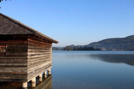 Wunderschöne See- und Lichtstimmung.