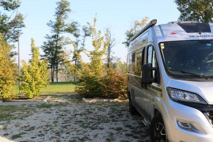 Der relativ neue Wohnmobilstellplatz in Quinto di Treviso ist rund 9 km von Treviso Zentrum entfernt.