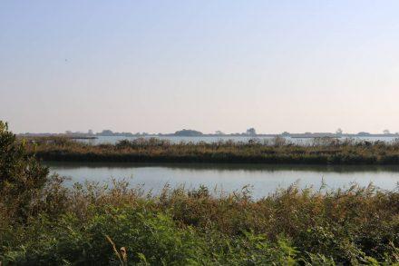 Auch in Richtung Inland schließt sich ein Wasserweg an den anderen an.