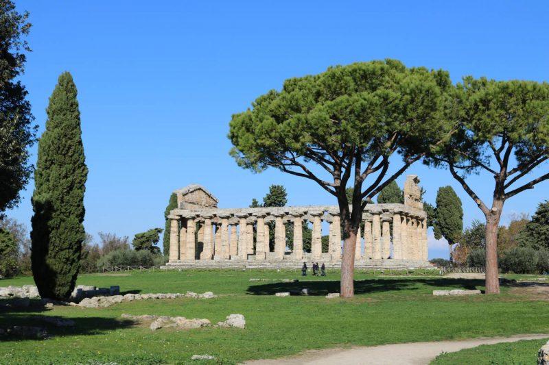 Der Athene Tempel war wahrscheinlich der Göttin der Weisheit gewidmet.