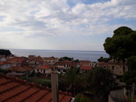 Aussicht über San Marco vom Turm der Villa.
