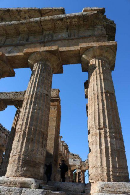Diese Säulen stehen hier seit zweieinhalb Jahrtausenden.