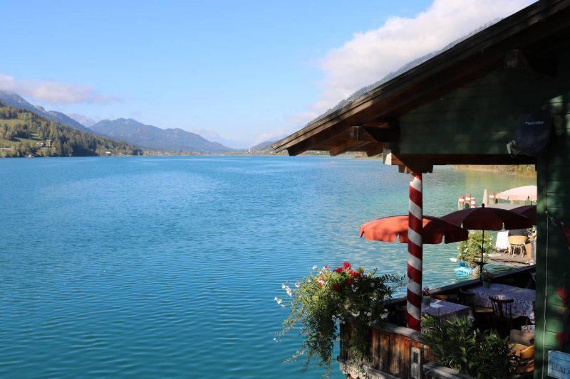 Wunderschöner Platz am See, das Restaurant Ronacher.