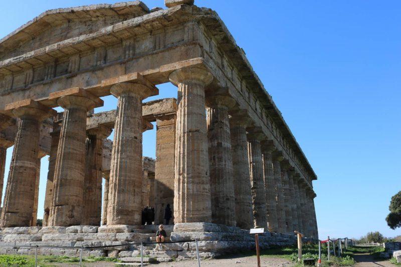 Vor imposanten 2500 Jahren Geschichte fühlt man sich recht klein.