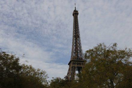 Das Wahrzeichen von Paris.