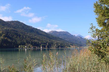 Der Weißensee ist der kälteste See Kärntens.