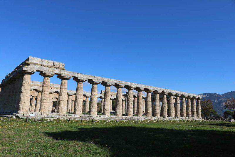 der Hera Tempel wird auch Basilica genannt.