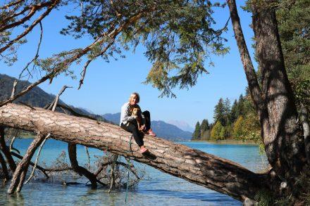 Wohnmobil Urlaub am Naturwunder Weißensee