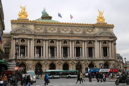 Die prachtvolle Oper von Paris.