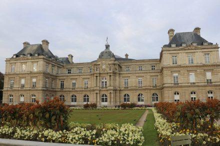 Im Palais du Luxembourg ist der Senat untergebracht.
