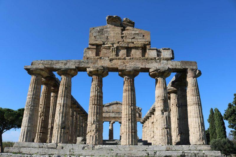 Der Athene Tempel, der auch Ceres Tempel genannt wird.