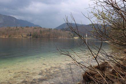 Im Osten des Bohinj See liegt die kleine Ortschaft Stara Fuzina.