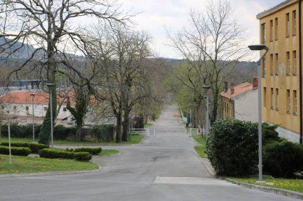 Direkt von Lipica führte eine Straße nach Triest.