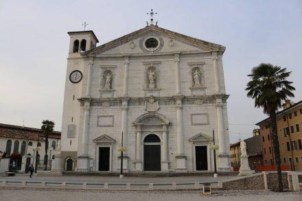 Duomo Dogale am Piazza Grande in Palmanova.
