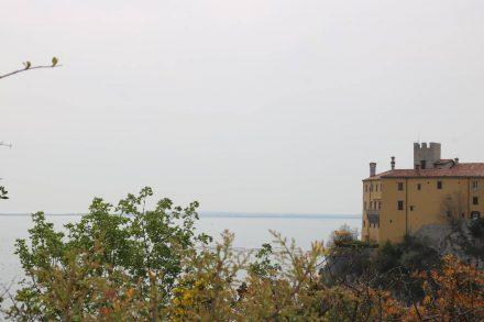 Der Rilkeweg, auf dem schon der berühmte Dichter wandelte, geht von Sistiana bis zum Schloss Duino.