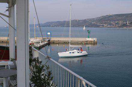 Wunderschöner Tag in Triest zu einer Bootstour.