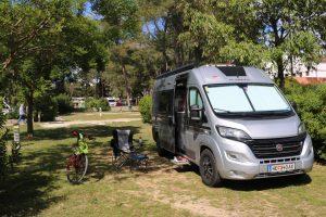 Der Adria Twin in Kroatien auf Tour.