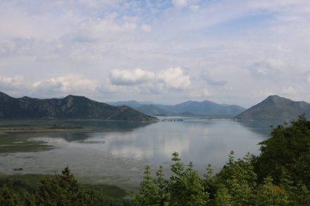 Auf schmalen Bergstraßen von Ulcinj zum Skutarisee mit dem Camper