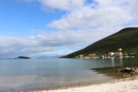 Nur siebzig Menschen leben in der Bucht von Brijesta.