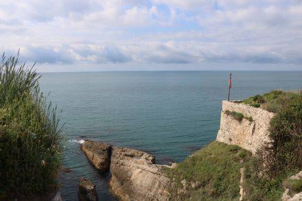Die mächtigen Festungsmauern sollten Ulcinj vor der Eroberung schützen.