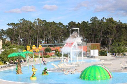 Der Fun-Pool ist geheizt.