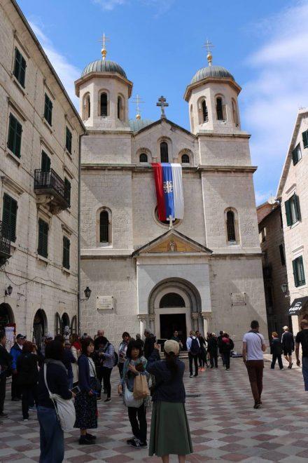 Die St. Nikolaus Kirche in Kotor ist dem Schutzpatron der Seefahrer gewidmet.