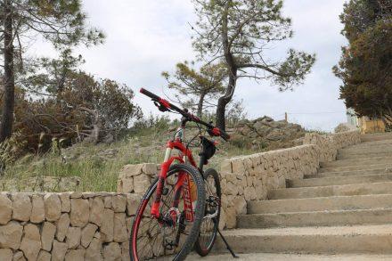 Bereit für die Biketour von Nin nach Privlaka.