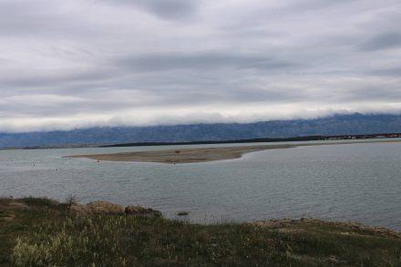Ein großes Leichtwasser-Areal in der Bucht von Nin steht unter Naturschutz.