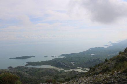 Der Skadarsko jezero oder auch Skutarisee.