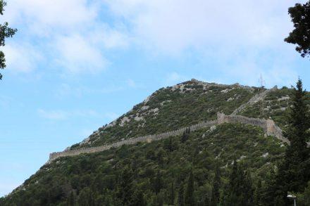 Mit dem Wohnmobil zur längsten Festungsmauer Europas nach Ston