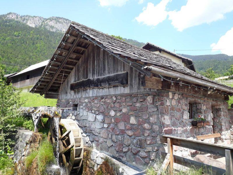 Die alte Mühle in Laas ist liebevoll restauriert und kann besichtigt werden.