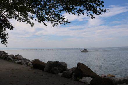 Die Bucht von Sistiana ist ideal für einen Bootsausflug.