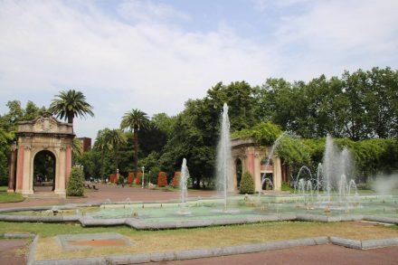 Der hübsche Parque de Dona Casilida de Iturrizar.