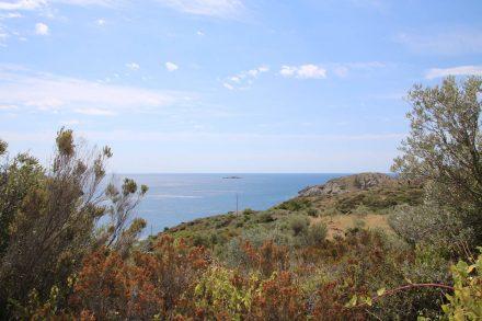 Weg durch den Park Natural Cap Creus.