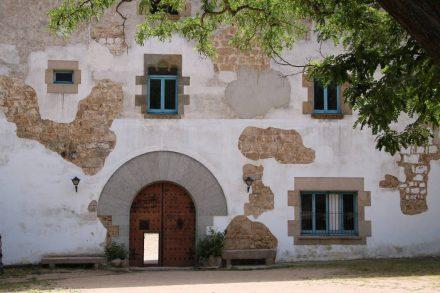 Eingang zur Einsiedelei Sant Grau.