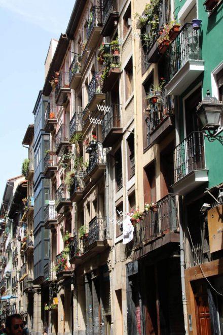 Die Siete Calles der Altstadt von Bilbao sind Fußgängerzone.