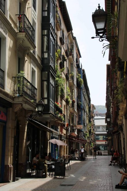 """Das Herz der Altstadt von Bilbao sind die """"Sieben Straßen""""."""