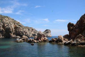 Geschütztes Naturerbe Medes Inseln.