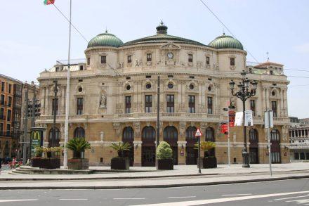 Das Opernhaus von Bilbao.