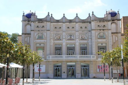 Das wunderschöne Theater von Figueres.