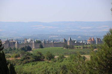 UNESCO Weltkulturerbe La Cite Carcassonne.