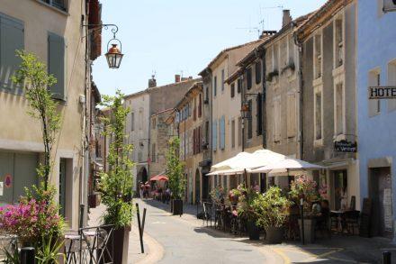 Auch die äußere Altstadt von Carcassonne ist sehr malerisch.