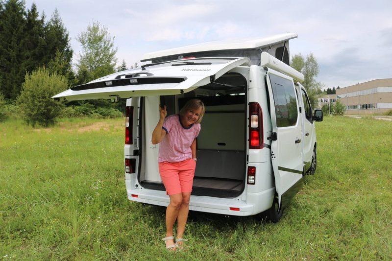 Kompakter Van auf Basis des neuen Renault Trafic.