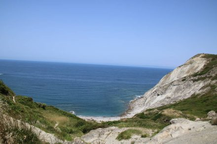In der Bucht von Golfo Norte trifft man sich am schönen Strand.