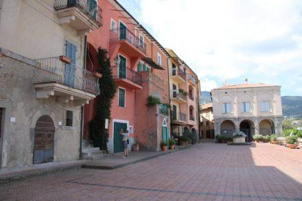 Das historische Zentrum von Porto Ercole.