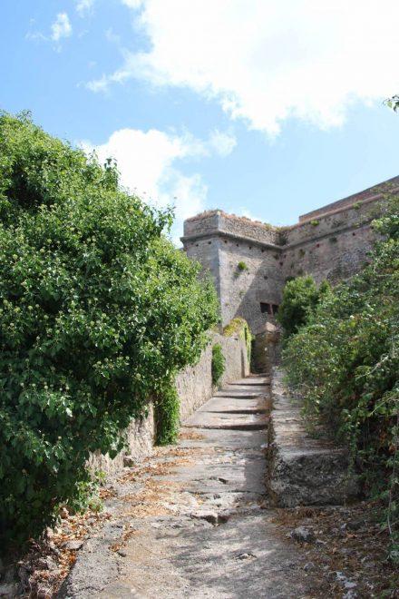 Die Rocca Spagnola hoch über Porto Ercole.